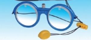 occhiali prismatici per traning visivo negligenza spaziale (neglect)